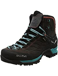 Salewa Mtn Trainer Mid Gore-Tex Bergschuh, Chaussures de Trekking et Randonnée Femme