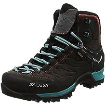 SALEWA Mtn Trainer Mid Gore-Tex Bergschuh, Zapatos de High Rise Senderismo para Mujer