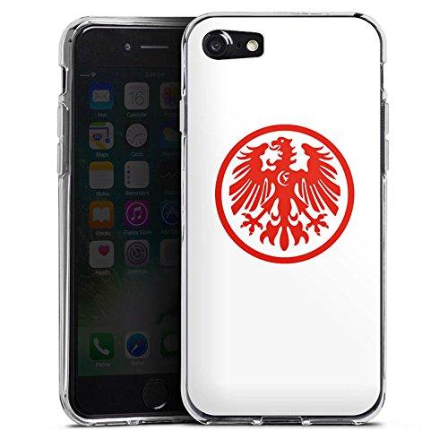 Apple iPhone X Silikon Hülle Case Schutzhülle Eintracht Frankfurt Fanartikel Fussball Silikon Case transparent