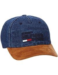 Tommy Hilfiger Herren Baseball Thd Jeans Cap Blau (Denim 088), One Size (Herstellergröße: OS)