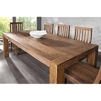 Holztisch design esstisch  DuNord Design Esstisch Tisch JAKARTA 200cm Sheesham Massivholz ...