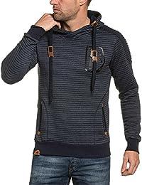 BLZ jeans - Sweat homme navy molleton à poches