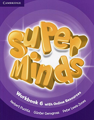 Super minds. Workbook. Per la Scuola elementare. Con e-book. Con espansione online: Super Minds Level 6 Workbook with Online Resources - 9781107483057 por Herbert Puchta