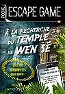 Escape Game de Poche - À la recherche du temple de Wen Sé par Trenti