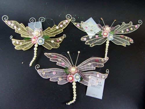 gisela-graham-creme-et-or-paillette-bijou-papillon-libellule-a-suspendre-decoration-de-noel-arbre-de