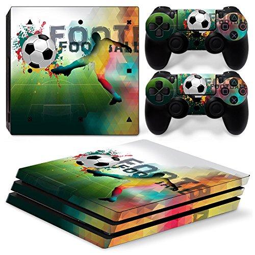 46 North Design Ps4 Pro Playstation 4 Pro Pegatinas De La Consola Football + 2 Pegatinas Del Controlador 51q6g7tPzaL