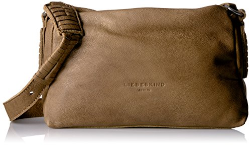 Liebeskind SapporoS7 Umhängetasche Leder 26 cm sage green L