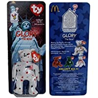 Glory USA Bear - McDonalds Ty Teenie Beanie MIP - 1999