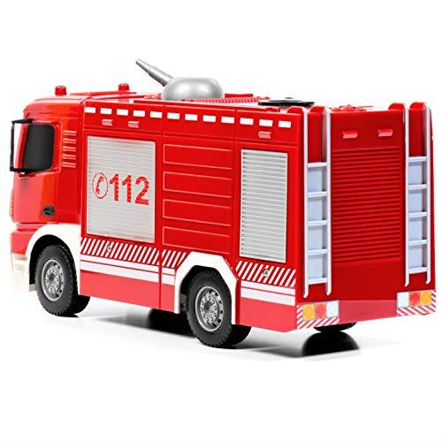 RC Auto kaufen Feuerwehr Bild 5: RAYLINE RC Feuerwehr Auto Car Ferngesteuerte Bus E572-003 Löschfahrzeug mit Wasserpumpe*