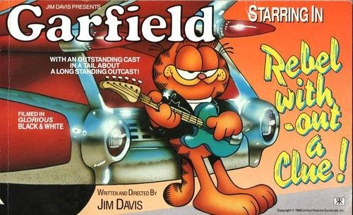Garfield - Rebel without a Clue (Garfield landscape books) by Jim Davis (26-Oct-1989) Paperback