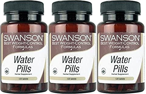 Swanson Diet Water Pills, 360 Tablets - WATER RETENTION BLOATING