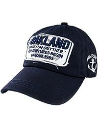 Romens Ltd Uomo Donna Cappellini da Baseball cap Oakland Unisex Hat Cappelli 73d1e4af1bf4