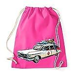 TRVPPY Baumwoll Turnbeutel Sportbeutel Modell Ecto 1 Farbe Pink