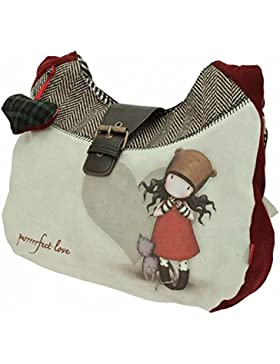 Gorjuss Purrrrfect Love Slouch Bag