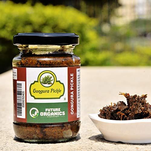 Future Organics - Indian Flavoured Homemade Pickle - Gongura -160gm