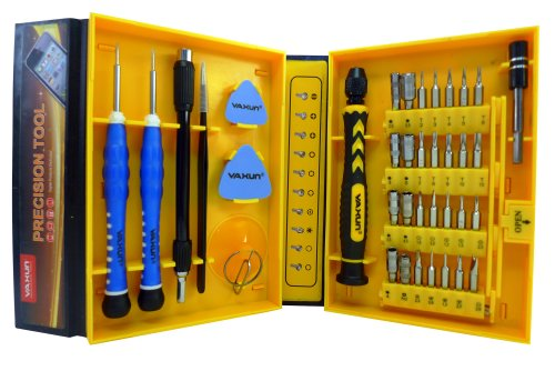 Price comparison product image LB1 High Performance New Professional Tools Set for GPS TomTom START 55TM 5-Inch Multipurpose 38-Piece Precision Screwdrivers Repair Tools Kit