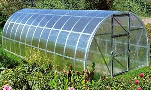 Polycarbonat Gewächshaus All Season Bioprodukte Garten Gartenarbeit Anbau Gemüse Pflanzen Blumen dauerhafte Wärme Hitze Winter Schnee Schutz Widerstand UV Garantie Qualität 300cm x 1400cm x 210cm