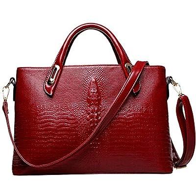 Sac à main des femmes Femmes Sacs Messenger Sac à bandoulière Sacs à main en cuir pour femmes motif crocodile tote bags