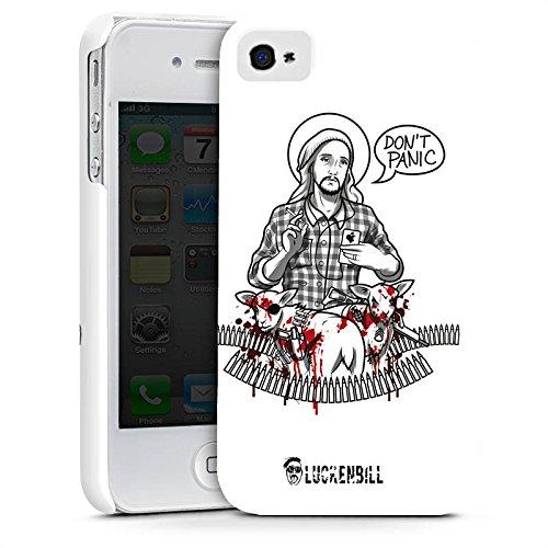 Apple iPhone X Silikon Hülle Case Schutzhülle Jesus Schaf Blut Premium Case glänzend