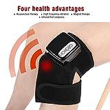Masajeador de Rodilla, 110-240V Terapia Magnética Infrarroja Aliviar el Dolor Articular para Rodilla, Codo, Hombro, Control de Temperatura: 45-60 Grados