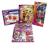 Mediablue Mia and Me 4er Set Backbuch, Barbie Puppe Lasita, Memo und ein 200 Puzzel