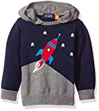 The Childrens Place Boys Colorblocked Hooded Sweater