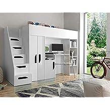 Suchergebnis auf Amazon.de für: Kinderhochbett mit Schreibtisch