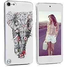 iPod Touch 5 / Touch 6 Funda en PC Pilicarbonato Rígida Dura Delgada Slim KASOS Carcasa con Dibujo de Elefante