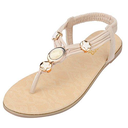 ZOEREA delle ragazze delle signore di estate delle donne piatto Infradito sandali merletto in rilievo scarpe piatte Open Toe ragazza delle donne Scarpe casual