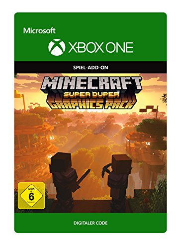 Minecraft: Super Duper Graphics Edition | Xbox One - Download Code (Video-spiel-xbox One)