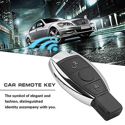 Duokon-2-Tasten-Auto-Keyless-Entry-Fernbedienung-Schlssel-PFC9234-Chip-Fernbedienung-Sender-fr-rcedes-be-BGA-43392-MHz