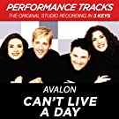 Can't Live a Day (Performance Tracks) - EP