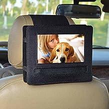 """Soporte de coche, coche soporte para reposacabezas de coche para DBPower® 7,5 """"reproductor de DVD portátil con pantalla giratoria (negro)"""