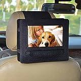 Support Voiture Appui-tête pour DBPOWER 7.5' Lecteur DVD Portable avec écran orientable