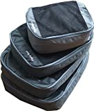 Flying Soul Packing Cube Travel Organizer Set of 4 (Grey)