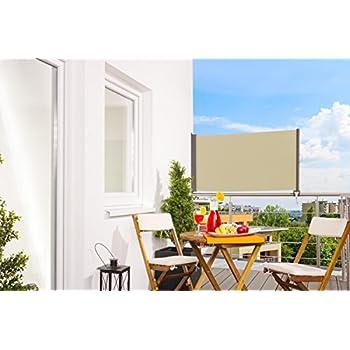 jago balkonmarkise seitenmarkise balkonf cher sichtschutz in 3 verschiedenen gr en. Black Bedroom Furniture Sets. Home Design Ideas