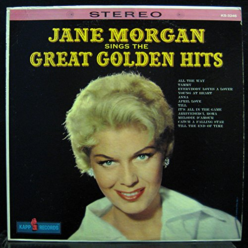 Jane Morgan Sings The Great Golden Hits [Vinyl LP] (Ks Morgan)