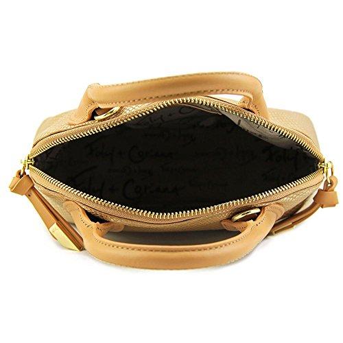 Foley + Corinna Cassis Mini Satchel Femmes Cuir Cartable Gold Dust