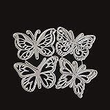 Deanyi Schmetterling Muster Präge Stanzformen für DIY