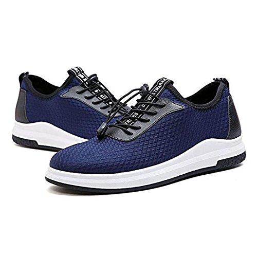 Scarpe sportive da uomo primavera estate scarpe da corsa scarpe da ginnastica in tessuto blue