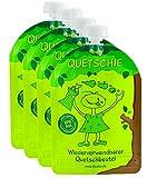 divata Quetschies 170ml (4er Pack), BPA-frei - wiederverwendbare Quetschbeutel zum selbst befüllen...