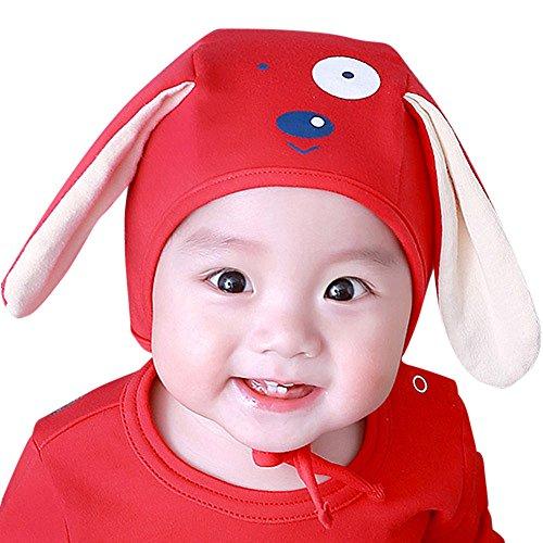 Odjoy-fan-bambino cartone animato tridimensionale orecchie lunghe cappello da cucciolo-berretti inverno maglia bambini scialle autunno e inverno sciarpa a protezione del con cappello