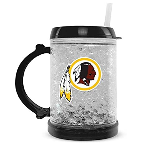 NFL Washington Redskins Duck House Junior Crystal Mug, Small, White