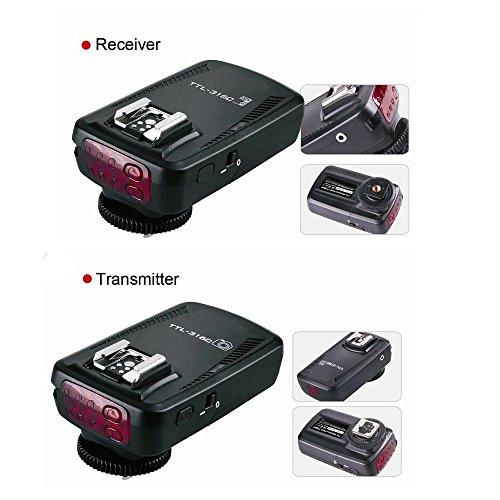 PHOTAREX TTL-316C High Speed E-TTL-Blitzauslöser bis 1/8000 Sek. für Canon