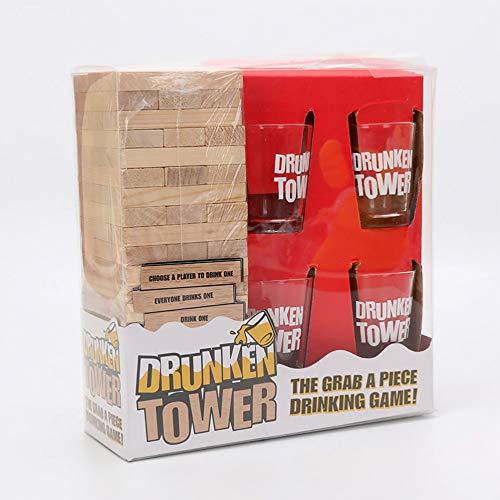 Original Cup-Drunken Trinkspiel für Abende Frauen, Tower -