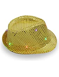 8abea1f4623 Amazon.co.uk  Yellow - Fedoras   Trilby Hats   Hats   Caps  Clothing
