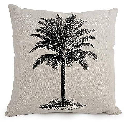 uloveme 18x 18pulgadas/45por 45cm Palm manta fundas de almohada, doble lados es apta para habitación infantil, Bar asiento, San Valentín, San Valentín, niños, GF