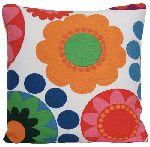 ikea-copricuscino-motivo-floreale-design-scandinavo-colore-arancione-rosso