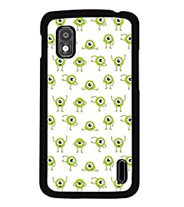 MENTAL MIND DESIGNER HARD SHELL BACK COVER CASE FOR LG NEXUS 4