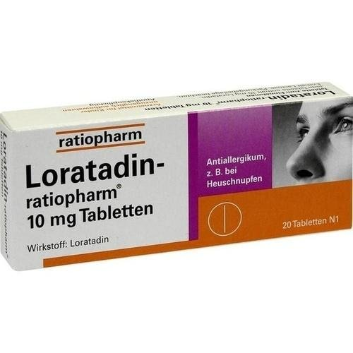 Loratadin Ratiopharm 10 Mg Tabletten 20 St (Loratadin Tabletten)